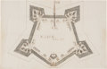 Books:Maps & Atlases, Map of Fort Totten with Documents for Fort Rowan....