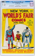 Golden Age (1938-1955):Superhero, New York World's Fair Comics 1940 (DC, 1940) CGC VF- 7.5 Off-white to white pages....