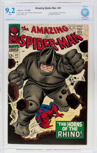 The Amazing Spider-Man #41 (Marvel, 1966) CBCS NM- 9.2 White pages