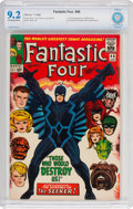 Silver Age (1956-1969):Superhero, Fantastic Four #46 (Marvel, 1966) CBCS NM- 9.2 Off-white to whitepages....