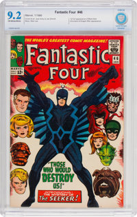 Fantastic Four #46 (Marvel, 1966) CBCS NM- 9.2 Off-white to white pages