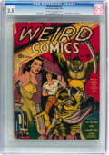 Golden Age (1938-1955):Horror, Weird Comics #1 (Fox Features Syndicate, 1940) CGC GD+ 2.5 Cream to off-white pages....