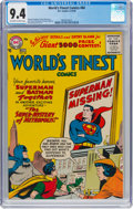 Silver Age (1956-1969):Superhero, World's Finest Comics #84 (DC, 1956) CGC NM 9.4 Off-white to whitepages....