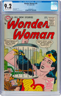 Silver Age (1956-1969):Superhero, Wonder Woman #76 (DC, 1955) CGC NM- 9.2 Off-white to whitepages....