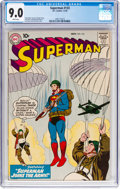 Silver Age (1956-1969):Superhero, Superman #133 (DC, 1959) CGC VF/NM 9.0 White pages....