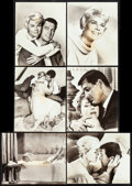 """Movie Posters:Comedy, Pillow Talk (Universal International, 1959). Photos (6) (11"""" X 14""""). Comedy.. ... (Total: 6 Items)"""