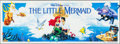 """Movie Posters:Animation, The Little Mermaid (Buena Vista, 1989). Banner (35"""" X 96""""). Animation.. ..."""