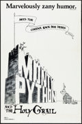 """Movie Posters:Comedy, Monty Python and the Holy Grail (Cinema 5, 1975). One Sheet (27"""" X41""""). Comedy.. ..."""