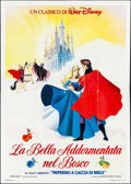"Movie Posters:Animation, Sleeping Beauty & Other Lot (Warner Brothers Italia, R-1980s). Italian 4 - Foglis (2) (55"" X 77""). Animation.. ... (Total: 2 Items)"
