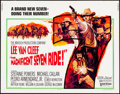 """Movie Posters:Western, The Magnificent Seven Ride! & Others Lot (United Artists, 1972). Half Sheets (3) (22"""" X 28"""") & Photos (4) (8"""" X 10""""). Wester... (Total: 7 Items)"""