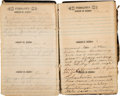 Autographs:Military Figures, 1865 Diary of Henry B. Morris of the 56th NY Infantry with RelatedPapers. ...