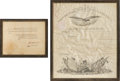 Autographs:U.S. Presidents, James K. Polk Signed Military Appointment.... (Total: 2 Items)