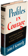Books:Signed Editions, Robert Kennedy Signed Profiles in Courage....