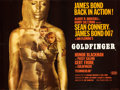 "Movie Posters:James Bond, Goldfinger (United Artists, 1964). Full-Bleed British Quad (30"" X 40"").. ..."