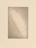 Fine Art - Work on Paper:Print, Louise Bourgeois (1911-2010). Progression, 1990. Engraving on wove paper. 16-3/4 x 10-7/8 inches (42.5 x 27.6 cm) (image...