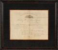 Autographs:U.S. Presidents, Abraham Lincoln Revenue Appointment Signed ...