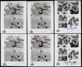 Autographs:Photos, Sammy Baugh Signed Photograph Lot of 10....