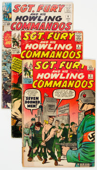 Sgt. Fury and His Howling Commandos Group of 40 (Marvel, 1963-71) Condition: Average VG-.... (Total: 40 Comic Books)