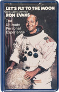 Explorers:Space Exploration, Ron Evans' Signed Let's Fly to the Moon VHS Video Album. ...