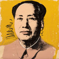 Prints & Multiples, Andy Warhol (1928-1987). Mao, 1972. Screenprint in colors on Beckett High White paper. 36 x 36 inches (91.4 x 91.4 cm) (...