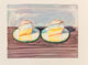Wayne Thiebaud (b. 1920) Two Meringues, 2002 Lithograph in colors on Arches paper 18 x 23-7/8 inches (45.7 x 60.6 cm)