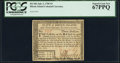 Colonial Notes:Rhode Island, Fully Signed Rhode Island July 2, 1780 $3 PCGS Superb Gem New67PPQ.. ...