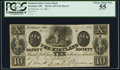 Obsoletes By State:Ohio, Kirtland, OH - Kirtland Safety Society Bank $10 Feb. 10, 1837 G10 Wolka 1424-12 Rust 8. ...