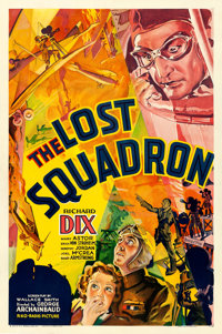 """The Lost Squadron (RKO, 1932). One Sheet (27"""" X 41"""")"""