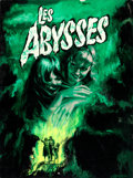 "Movie Posters:Foreign, Les Abysses by Jean Mascii (Kanawha, 1963). Signed Original FrenchGouache Poster Artwork on Illustration Board (19""""..."