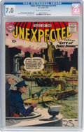 Silver Age (1956-1969):Horror, Tales of the Unexpected #15 (DC, 1957) CGC FN/VF 7.0 Cream tooff-white pages....