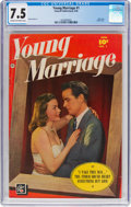 Golden Age (1938-1955):Romance, Young Marriage #1 (Fawcett Publications, 1950) CGC VF- 7.5 Cream tooff-white pages....