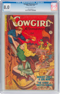 Golden Age (1938-1955):Western, Cowgirl Romances #7 (Fiction House, 1951) CGC VF 8.0 Off-white to white pages....