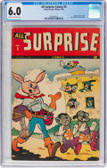 Golden Age (1938-1955):Funny Animal, All Surprise #5 (Timely, 1944) CGC FN 6.0 Cream to off-whitepages....