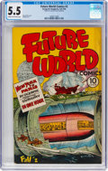Golden Age (1938-1955):Non-Fiction, Future World Comics #2 (George W. Dougherty, 1946) CGC FN- 5.5Cream to off-white pages....