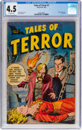 Golden Age (1938-1955):Horror, Tales of Terror #1 (Toby Publishing, 1952) CGC VG+ 4.5 Off-white pages....