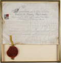 Autographs:Non-American, Napoleon Bonaparte Document Signed...
