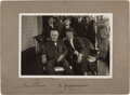 Autographs:Inventors, Thomas Edison Photograph Signed...