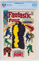 Fantastic Four #67 (Marvel, 1967) CBCS VF+ 8.5 White pages