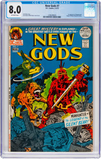 The New Gods #7 (DC, 1972) CGC VF 8.0 Off-white pages
