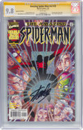 Modern Age (1980-Present):Superhero, The Amazing Spider-Man V2#25 Speckle Foil Edition - Signature Series (Marvel, 2001) CGC NM/MT 9.8 White pages....