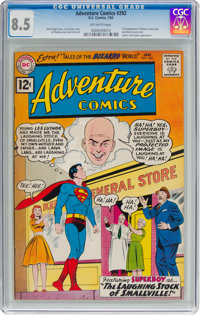 Adventure Comics #292 (DC, 1962) CGC VF+ 8.5 Off-white pages