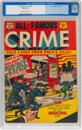 Golden Age (1938-1955):Crime, All-Famous Crime #4 (Star Publications, 1952) CGC FN- 5.5 Cream to off-white pages....