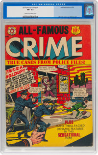 All-Famous Crime #4 (Star Publications, 1952) CGC FN- 5.5 Cream to off-white pages