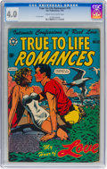 Golden Age (1938-1955):Romance, True-To-Life Romances #18 (Star Publications, 1953) CGC VG 4.0Cream to off-white pages....