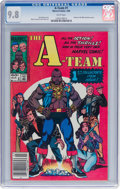 Modern Age (1980-Present):Miscellaneous, The A-Team #1 (Marvel, 1984) CGC NM/MT 9.8 White pages....