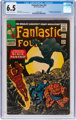 Fantastic Four #52 (Marvel, 1966) CGC FN+ 6.5 Cream to off-white pages