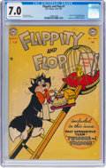 Golden Age (1938-1955):Funny Animal, Flippity and Flop #1 (DC, 1951) CGC FN/VF 7.0 Off-white to whitepages....