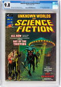 Magazines:Science-Fiction, Unknown Worlds of Science Fiction #1 (Marvel, 1975) CGC NM/MT 9.8 Off-white to white pages....