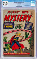 Journey Into Mystery #83 Golden Record Reprint (w/o record) (Marvel, 1966) CGC FN/VF 7.0 Off-white pages