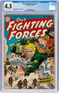 Golden Age (1938-1955):War, Our Fighting Forces #3 (DC, 1955) CGC VG+ 4.5 Cream to off-whitepages....